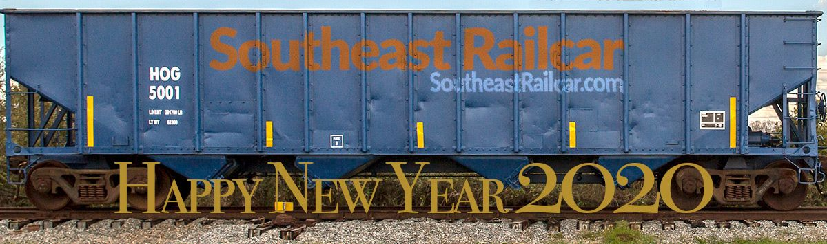Southeast Railcar Happy New Year 2020