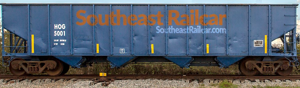 Southeast Railcar with Overlay